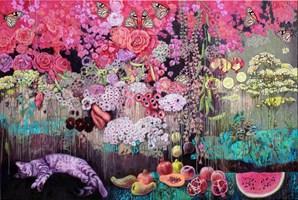 Obraz do salonu artysty Joanna Sierko-Filipowska pod tytułem Zapach wieczoru dla Klimta