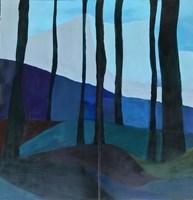 Obraz do salonu artysty Marta Hyla pod tytułem Las