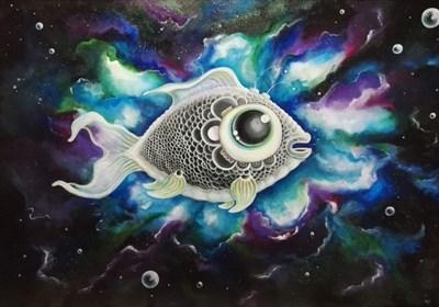 Obraz do salonu artysty Agata Płocica pod tytułem Make a wish