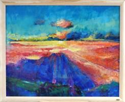 Obraz do salonu artysty Ilona Primus-Ziarnowska pod tytułem Chmury
