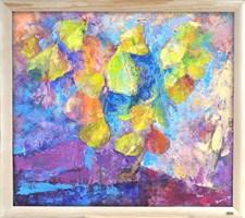Obraz do salonu artysty Ilona Primus-Ziarnowska pod tytułem Skradzione z nieba