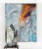 Rzeźba do salonu artysty Joanna Roszkowska pod tytułem FROZEN ENERGY
