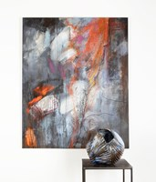 Rzeźba do salonu artysty Joanna Roszkowska pod tytułem SCRATCH