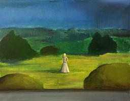 Obraz do salonu artysty Sabina Maria Grzyb pod tytułem Strach na wróblice