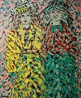 Obraz do salonu artysty Adam Bojara pod tytułem P33 PAJACE