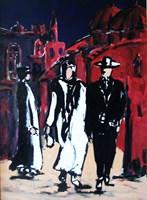 Obraz do salonu artysty Adam Bojara pod tytułem P16 JEROZOLIMA