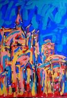 Obraz do salonu artysty Adam Bojara pod tytułem 68 FRANKFURT
