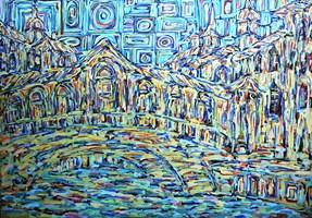 Obraz do salonu artysty Adam Bojara pod tytułem 67 WENECJA