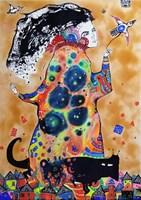 Obraz do salonu artysty Natalia Pastuszenko pod tytułem Wieczny powrót
