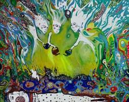 Obraz do salonu artysty Natalia Pastuszenko pod tytułem Wskrzeszenie lata
