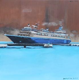 Obraz do salonu artysty Małgorzata Łodygowska pod tytułem Odpływam