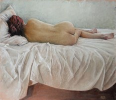 Obraz do salonu artysty Alina Sibera pod tytułem Cisza