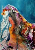 Obraz do salonu artysty Aneta Barglik pod tytułem Spojrzenie przez Niedozwolone