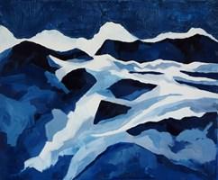 Obraz do salonu artysty Joanna Wróblewska pod tytułem Góry
