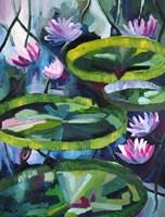 Obraz do salonu artysty Joanna Wróblewska pod tytułem Nenufary