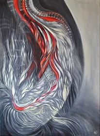 Obraz do salonu artysty Anita Zofia Siuda pod tytułem Tętni.CA