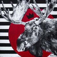 Obraz do salonu artysty Zuzanna Jankowska pod tytułem Łoś tokijski