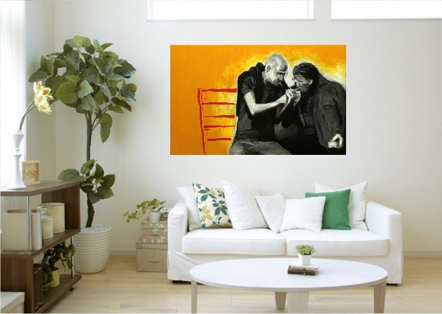Friends - visualisation by Krzysztof Musiał