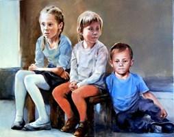 Obraz do salonu artysty Jan Dubrowin pod tytułem Bajka