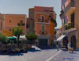 Obraz do salonu artysty Michał Janicki pod tytułem Taormina, Sicilia
