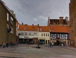 Obraz do salonu artysty Michał Janicki pod tytułem Pomnik Ducha, Gdańsk
