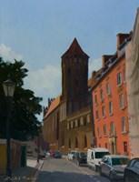 Obraz do salonu artysty Michał Janicki pod tytułem ul.Świętojańska, Gdańsk