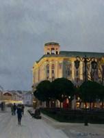 Obraz do salonu artysty Michał Janicki pod tytułem Krakowskie Przedmieście, Warszawa