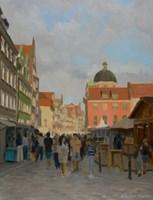 Obraz do salonu artysty Michał Janicki pod tytułem Św. Ducha, Gdańsk