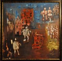 Obraz do salonu artysty Barbara Sikorski pod tytułem Koleje losu