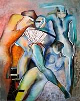 Obraz do salonu artysty Anna Lupa-Suchy pod tytułem W kole