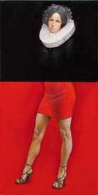 Obraz do salonu artysty Andrejus Kovelinas pod tytułem Zawsze kobieta
