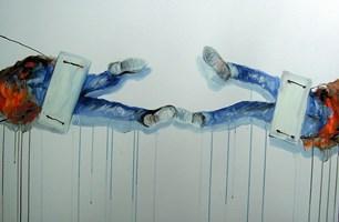 Obraz do salonu artysty Dariusz Grajek pod tytułem Odlot.....