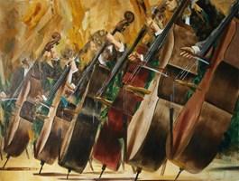 Obraz do salonu artysty Cyprian Nocoń pod tytułem Doctor's march