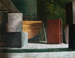 Obraz do salonu artysty Cyprian Nocoń pod tytułem Układ wschodni