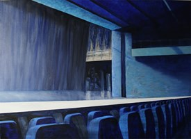 Obraz do salonu artysty Cyprian Nocoń pod tytułem Rząd