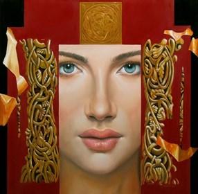 Obraz do salonu artysty Andrejus Kovelinas pod tytułem Starożytna dynastia