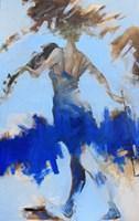 Obraz do salonu artysty Henadzy Havartsou pod tytułem Pierwsze skrzypce