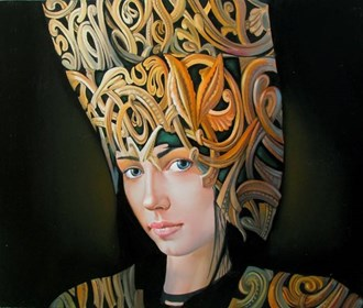 Obraz do salonu artysty Andrejus Kovelinas pod tytułem Celine