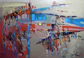 Obraz do salonu artysty Henadzy Havartsou pod tytułem Upgrade