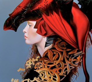 Obraz do salonu artysty Andrejus Kovelinas pod tytułem Cyntia