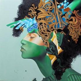 Obraz do salonu artysty Andrejus Kovelinas pod tytułem Esmeralda