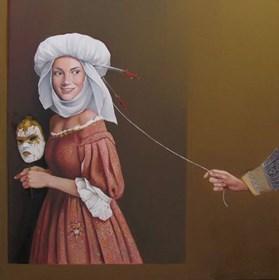 Obraz do salonu artysty Andrejus Kovelinas pod tytułem Flirt
