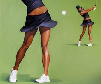 Obraz do salonu artysty Andrejus Kovelinas pod tytułem Golf