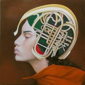 Obraz do salonu artysty Andrejus Kovelinas pod tytułem Samanta