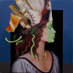 Obraz do salonu artysty Andrejus Kovelinas pod tytułem Lucette