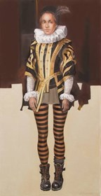 Obraz do salonu artysty Andrejus Kovelinas pod tytułem Księżniczka Gośka
