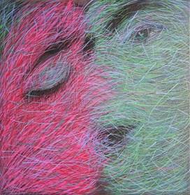 Obraz do salonu artysty Viola Tycz pod tytułem Połączenie 8