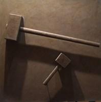 Obraz do salonu artysty Radosław Sowiak pod tytułem Roboty wykończeniowe