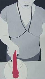Obraz do salonu artysty Viola Tycz pod tytułem Kuchnia II