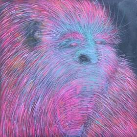 Obraz do salonu artysty Viola Tycz pod tytułem Przodek 1